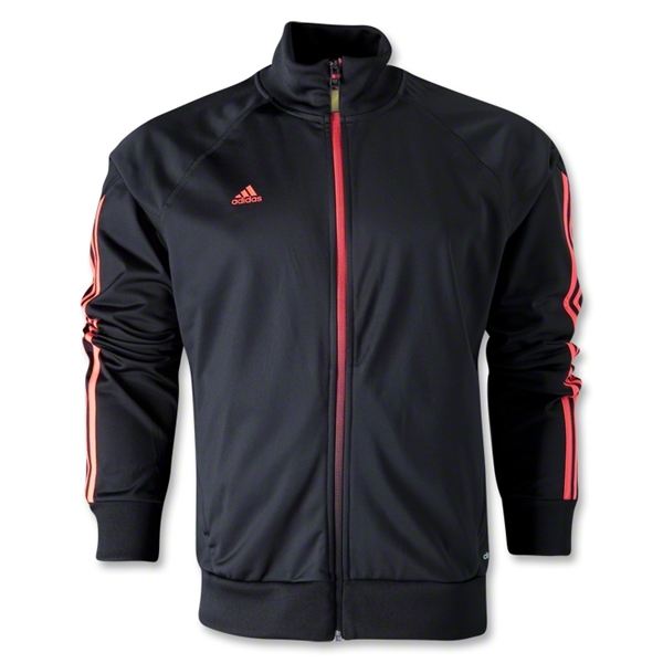 adidas Predator Track Jacket (Black/Red)
