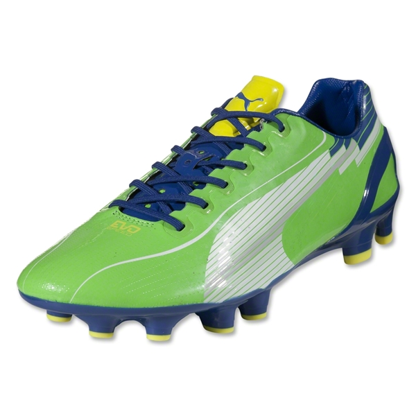 PUMA evoSPEED 1 FG (Jasmine Green/White/Monaco Blue/Fluo Yellow)
