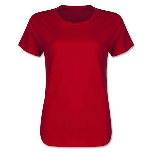 Women's 4.3 oz. T-Shirt (Red)