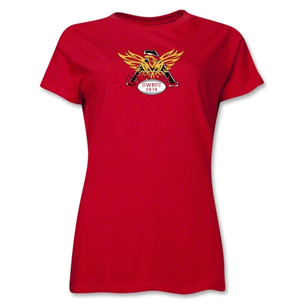 Old White Rugby Club Women's T-Shirt (Red)