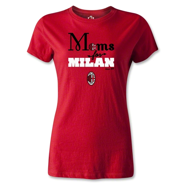 AC Milan Moms for Milan T-Shirt (Red)