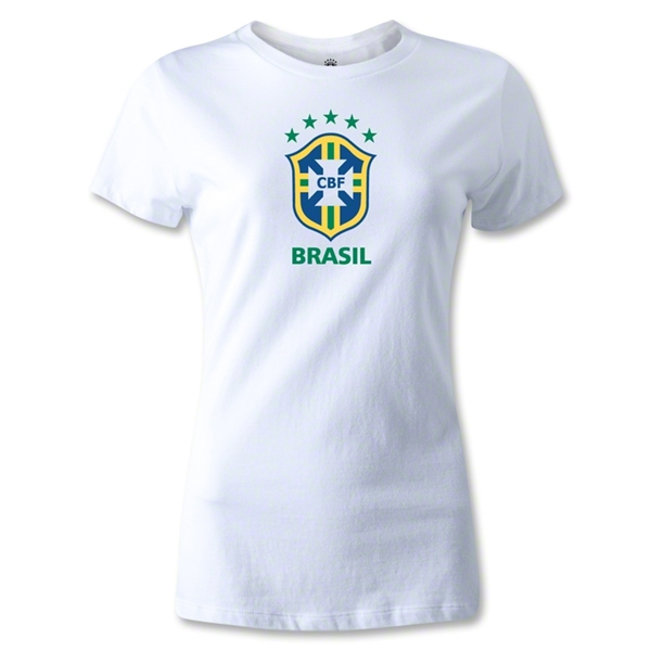 Brazil Women's T-Shirt (White)