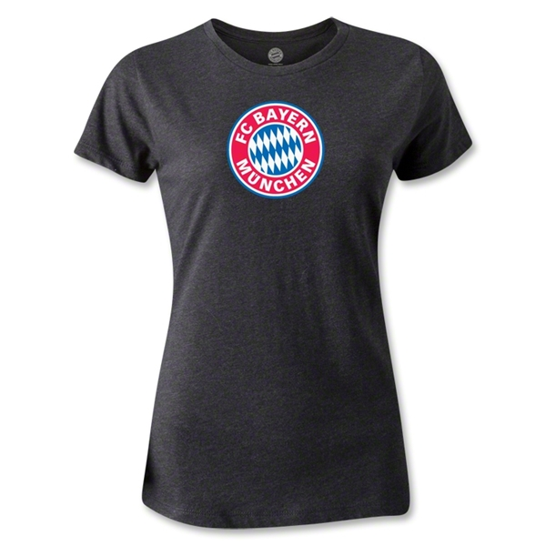 Bayern Munich Women's T-Shirt (Dark Gray)