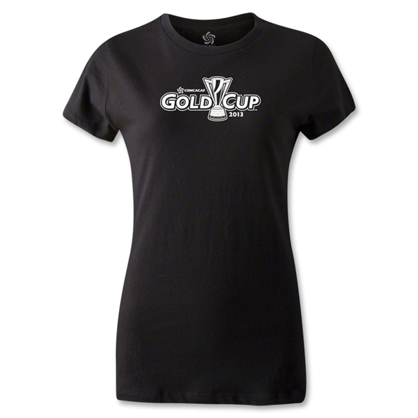 CONCACAF Gold Cup 2013 Women's T-Shirt (Black)