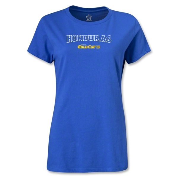 CONCACAF Gold Cup 2013 Women's Honduras T-Shirt (Royal)
