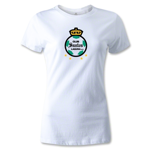 Club Santos Laguna Women's T-Shirt (White)