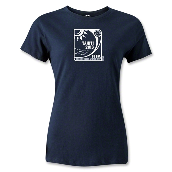 FIFA Beach World Cup 2013 Women's T-Shirt (Navy)