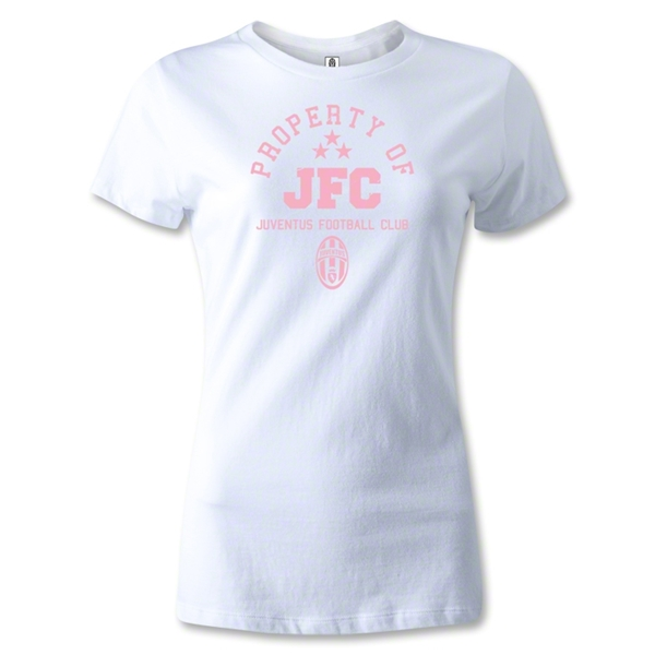 Juventus Property Women's T-Shirt (White)