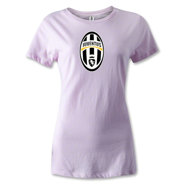 Juventus Badge Women's T-Shirt (Pink)