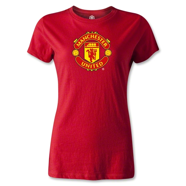 Manchester United Women's T-Shirt (Red)