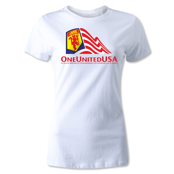 One United USA Women's T-Shirt (White)
