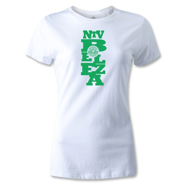 NTV Beleza Graphic Women's T-Shirt (White)