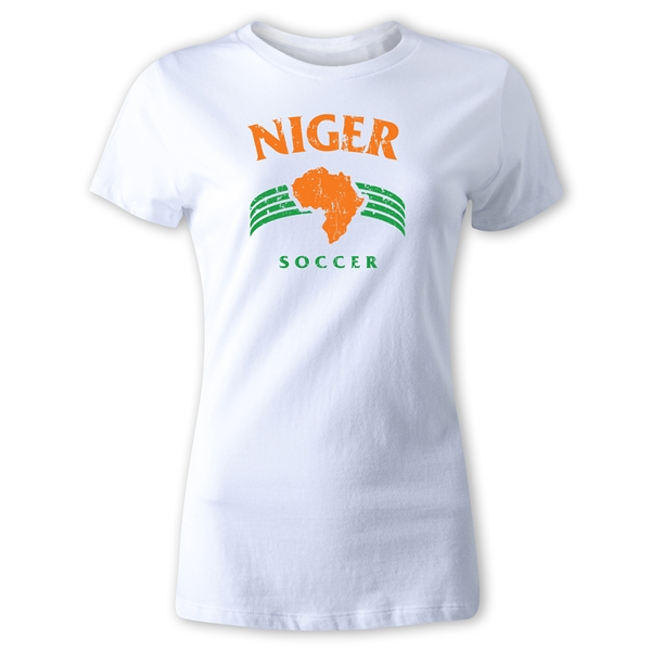 Niger Women's Country T-Shirt (White)