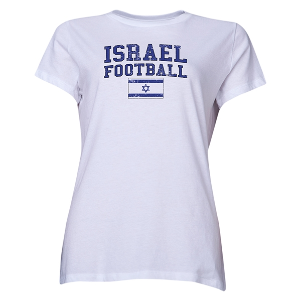 Israel Women's Football T-Shirt (White)