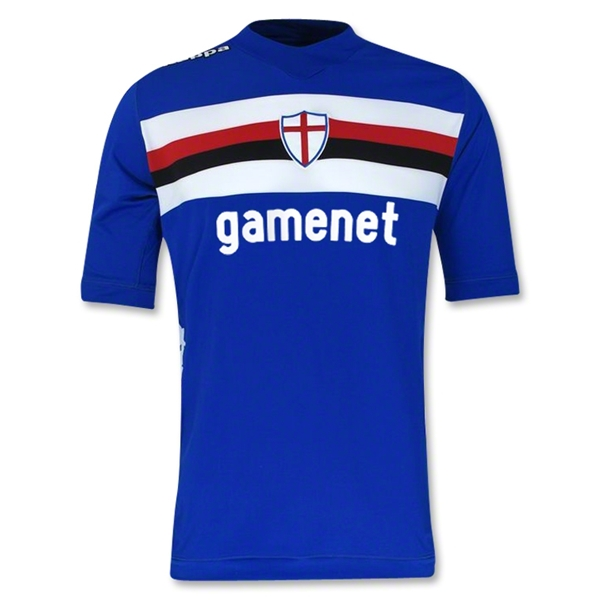 Sampdoria 12/13 Authentic Home Soccer Jersey