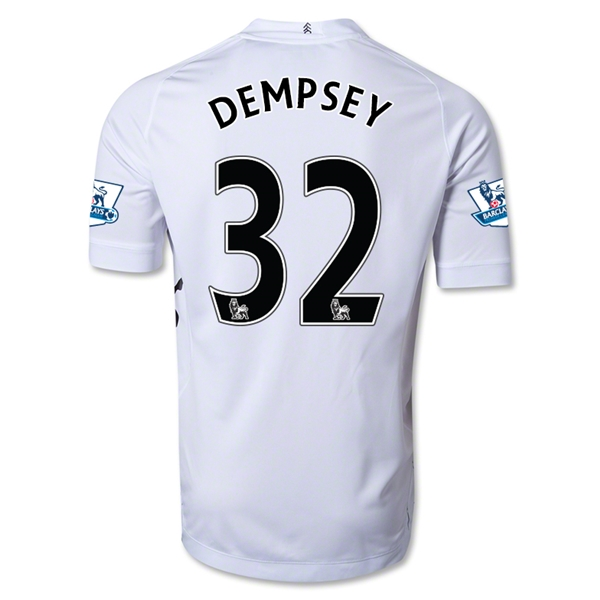 Fulham 12/13 DEMPSEY Authentic Home Soccer Jersey