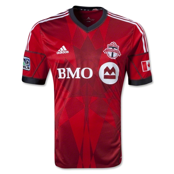 Toronto FC 2013 Authentic Primary Soccer Jersey
