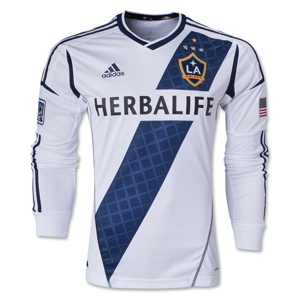 LA Galaxy 2013 Authentic LS Primary Soccer Jersey