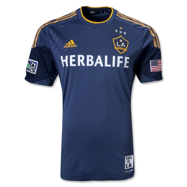 LA Galaxy 2013 Authentic Secondary Soccer Jersey