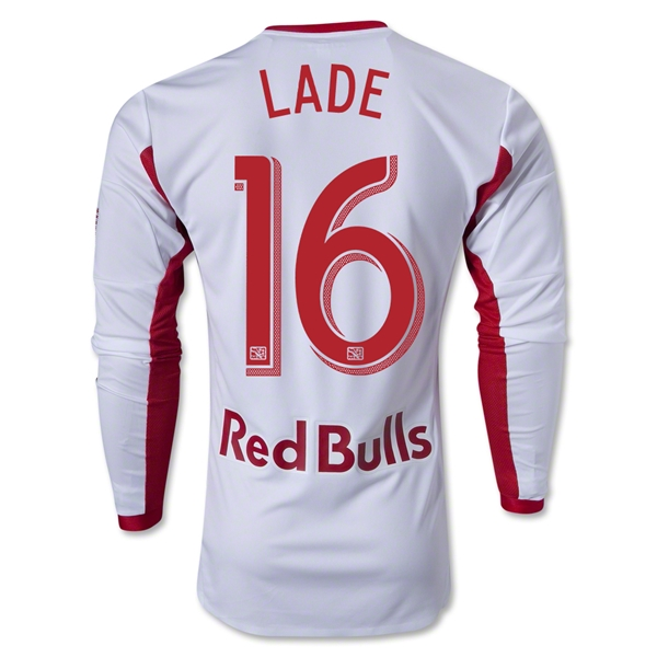 New York Red Bulls 2013 LADE LS Authentic Primary Soccer Jersey