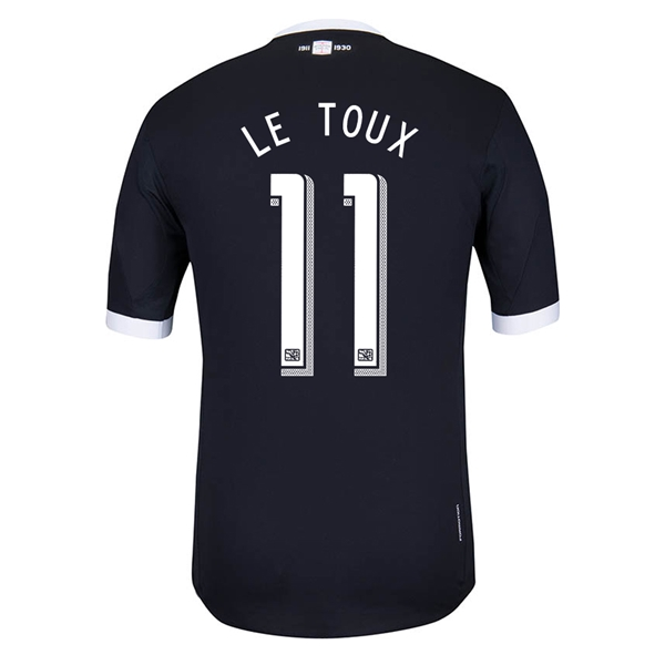 Philadelphia Union 2013 LE TOUX Authentic Third Soccer Jersey