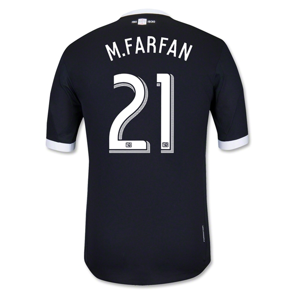 Philadelphia Union 2013 M.FARFAN Authentic Third Soccer Jersey