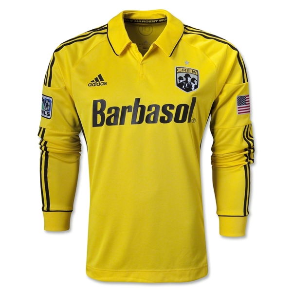 Columbus Crew 2013 Authentic LS Primary Soccer Jersey