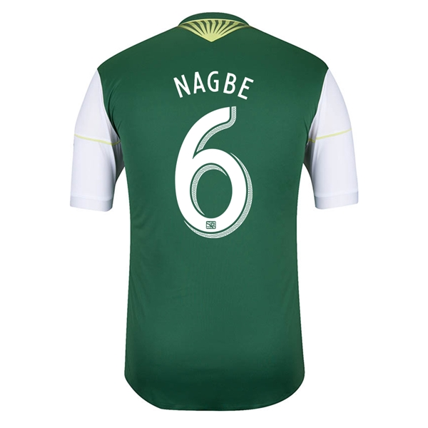 Portland Timbers 2014 NAGBE Authentic Primary Soccer Jersey