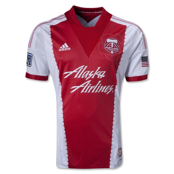 Portland Timbers 2013 Authentic Secondary Soccer Jersey