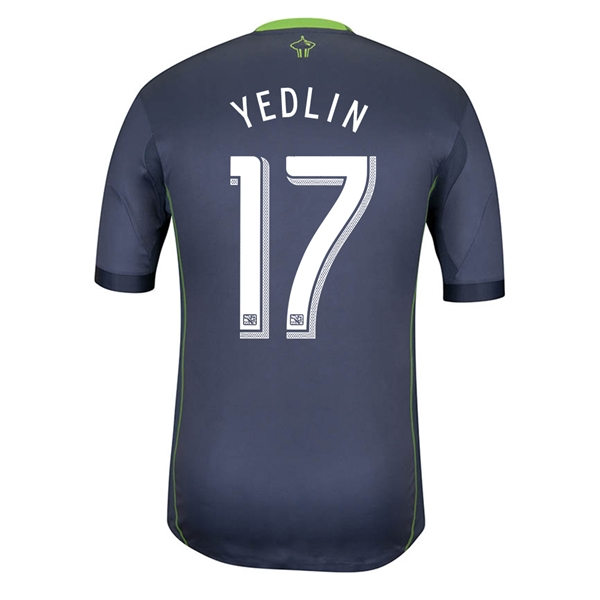 Seattle Sounders 2014 YEDLIN Authentic Secondary Soccer Jersey
