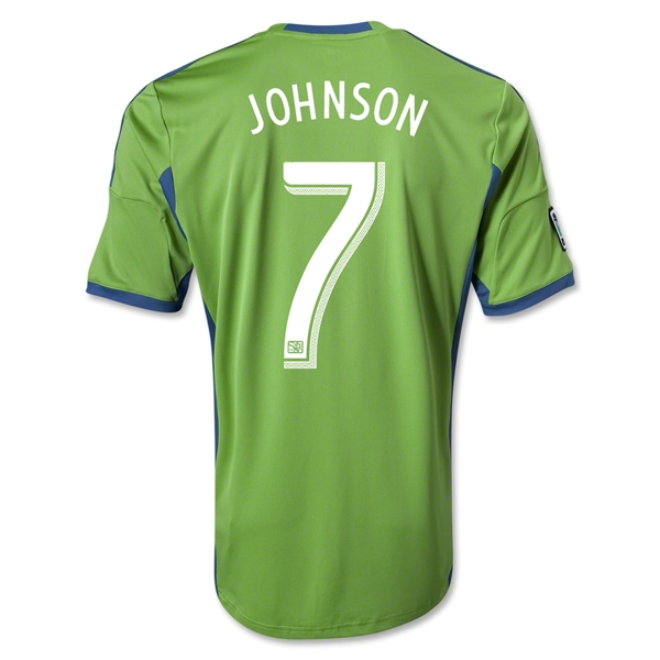 Seattle Sounders FC 2013 JOHNSON Primary Soccer Jersey