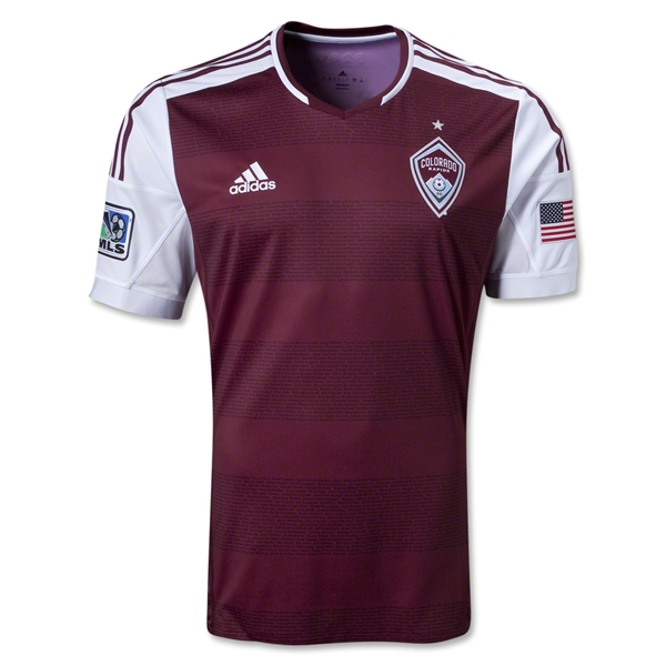 Colorado Rapids 2013 Authentic Primary Soccer Jersey