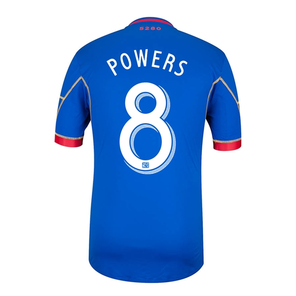 Colorado Rapids 2014 POWERS Authentic Secondary Soccer Jersey