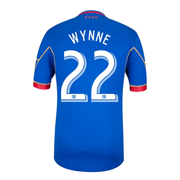 Colorado Rapids 2014 WYNNE Authentic Secondary Soccer Jersey