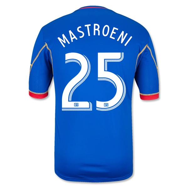 Colorado Rapids 2013 MASTROENI Secondary Soccer Jersey