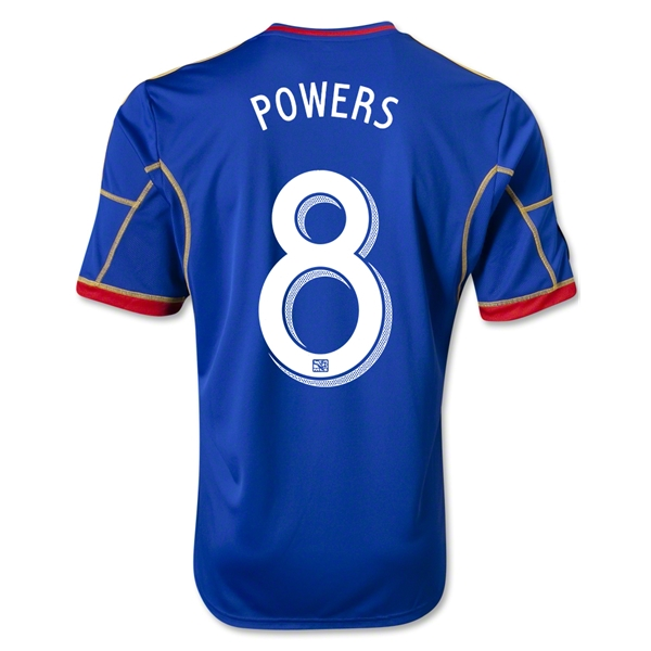 Colorado Rapids 2014 POWERS Secondary Soccer Jersey