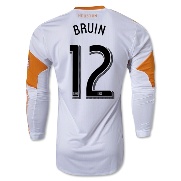 Houston Dynamo 2013 BRUIN LS Authentic Secondary Soccer Jersey