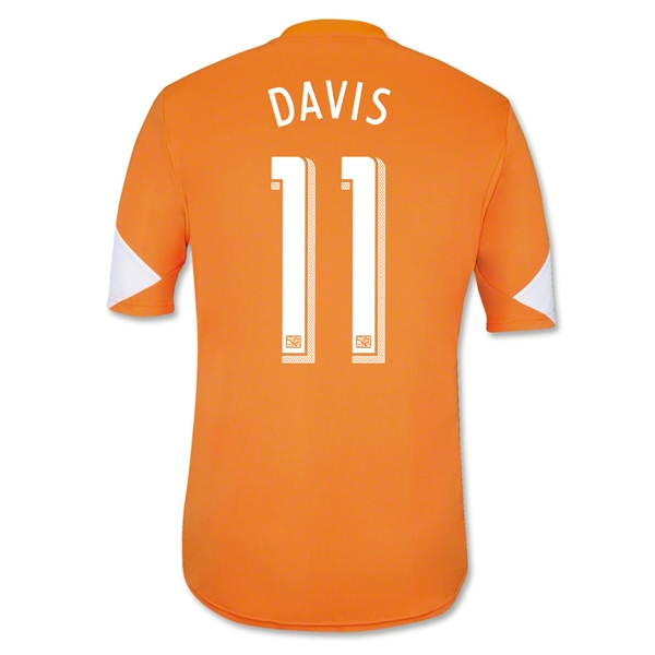 Houston Dynamo 2014 DAVIS Primary Soccer Jersey