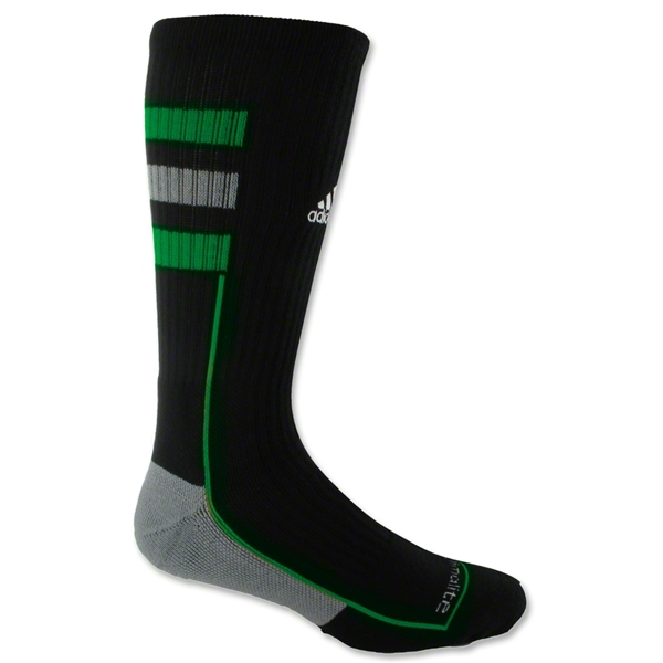 adidas Team Speed Crew Sock (Blk/Green)
