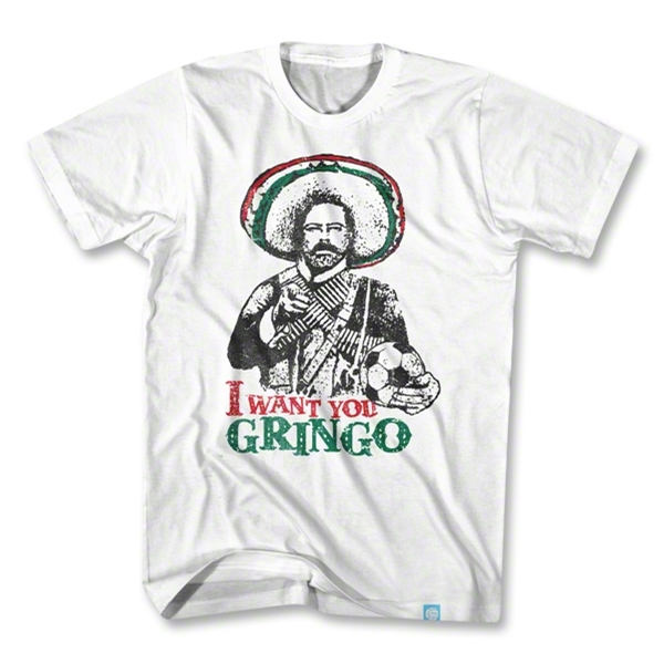 Pancho Villa I Want You T-Shirt (White)
