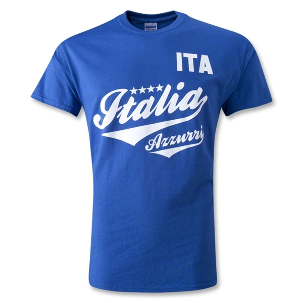 Italia Shield T-Shirt (Royal)