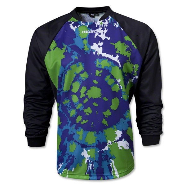 resuch Retro Goalkeeper Jersey (Lime)