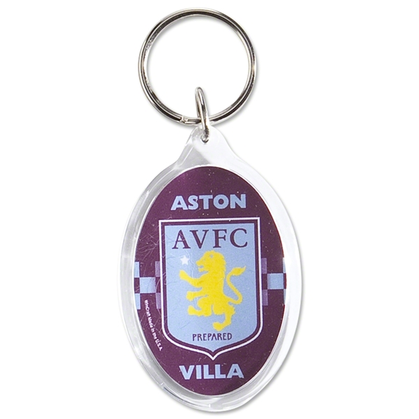 Aston Villa Logo Key Ring