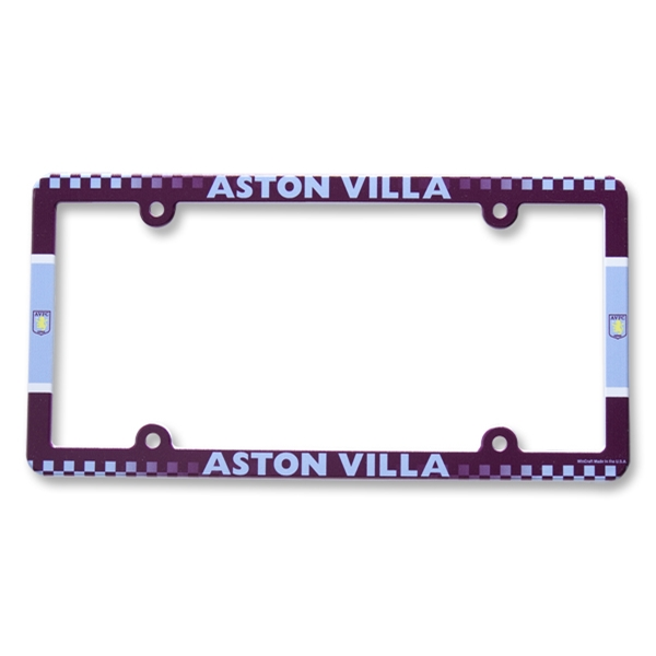 Aston Villa License Plate Frame