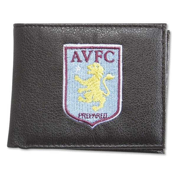 Aston Villa Crest Embroidered Wallet