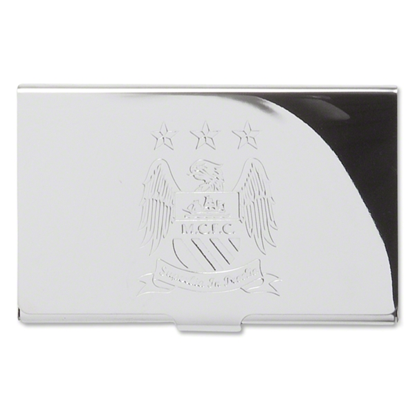 Manchester City Business Card Case