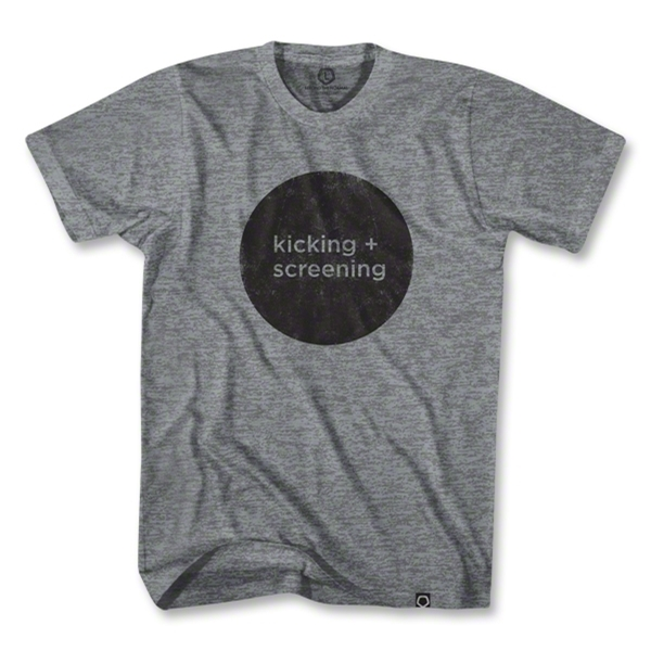 Kicking and Screening Film Festival T-Shirt (Gray)