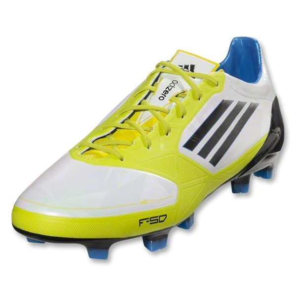 adidas F50 adiZero TRX FG Synthetic miCoach compatible (Running White/Lab Lime)