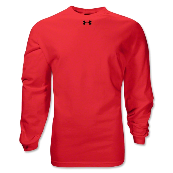 Under Armour Locker Long Sleeve T-Shirt (Red)