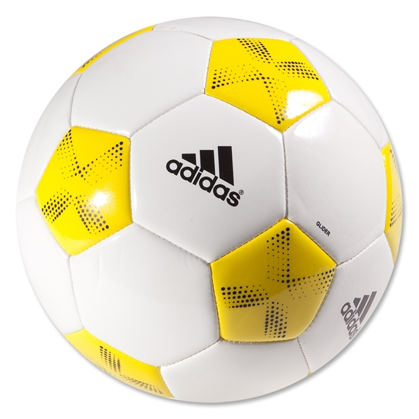 adidas 11Glider Ball (White/Vivid Yellow/Black)